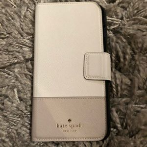 Kate Spade iPhone 6 Plus wallet case w/ mirror